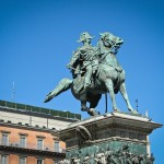 Statue von Vittorio Emanuele II