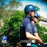 Polizisten hoch zu Ross